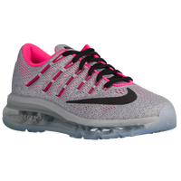 Nike Air Max 2016 - Girls' Grade School - Grey / Black