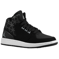 Jordan 1 Flight 3 - Boys' Grade School - Black / Grey