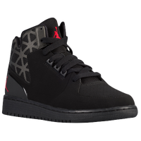 Jordan 1 Flight 3 - Boys' Grade School - Black / Red