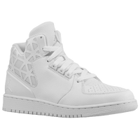 Jordan 1 Flight 3 - Boys' Grade School - All White / White