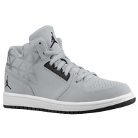 Jordan 1 Flight 3 - Boys' Preschool - Grey / Black