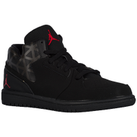Jordan 1 Flight 3 - Boys' Preschool - Black / Red
