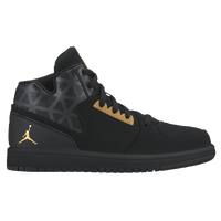 Jordan 1 Flight 3 - Boys' Preschool - Black / Gold