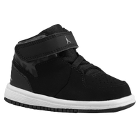 Jordan 1 Flight 3 - Boys' Toddler - Black / Grey