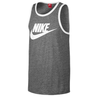 Nike Ace Tank - Men's - Grey / White