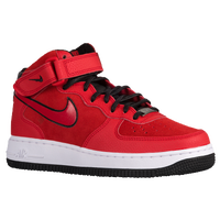 Nike Air Force 1 '07 Mid Suede - Women's - Red / Black