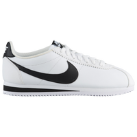 nike cortez white and green