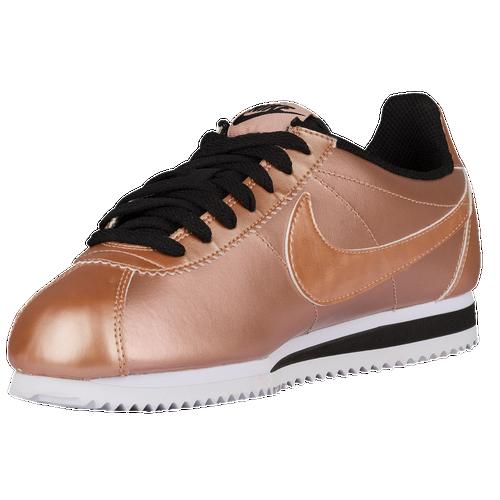 Nike Classic Cortez Women's Running Shoes Metallic Red BronzeMetallic Red BronzeBlack