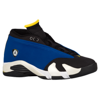 Jordan Retro 14 Low - Men's - Blue / Yellow