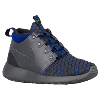 Nike Roshe One Mid - Boys' Grade School - Grey / Blue