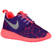 Nike Roshe One - Girls' Grade School - Purple / Silver