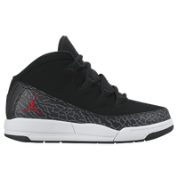 Jordan Deluxe - Boys' Preschool - Black / Red