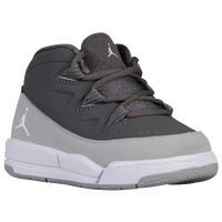 Jordan Deluxe - Boys' Toddler - Grey / White
