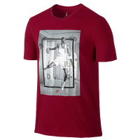 Jordan Retro 4 Hangtime T-Shirt - Men's - Red / White