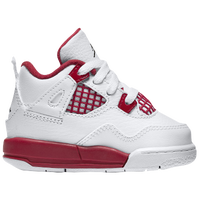 Jordan Retro 4 - Boys' Toddler - White / Red