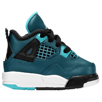 Jordan Retro 4 - Boys' Toddler - Dark Green / Black