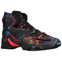 Nike LeBron XIII - Boys' Grade School - Black / Orange