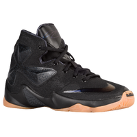 Nike LeBron XIII - Boys' Preschool -  LeBron James - Black / Gold