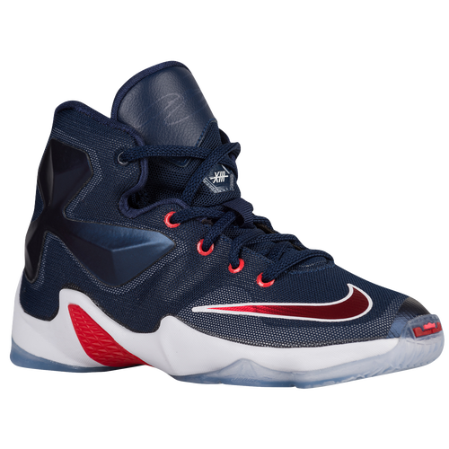 Nike LeBron XIII - Boys' Preschool - Basketball - Shoes - James, LeBron -  Midnight Navy/University Red/White/Bright Crimson