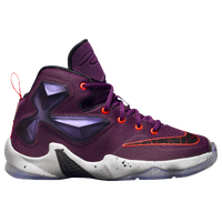 Nike LeBron XIII - Boys' Preschool -  LeBron James - Purple / Black