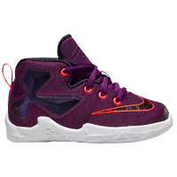 Nike LeBron XIII - Boys' Toddler -  Lebron James - Purple / Black