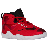 Nike LeBron XIII - Boys' Toddler -  LeBron James - Red / Black