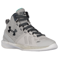 Under Armour Curry 2 - Boys' Preschool - Grey / White