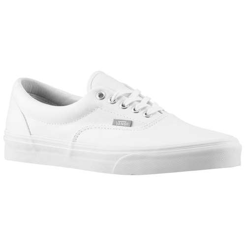 mens vans era white