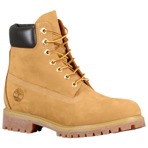 "Timberland 6"" Premium Waterproof Boot - Men's - Wheat Nubuck"