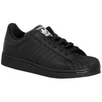 adidas Originals Superstar 2 - Boys' Toddler - All Black / Black