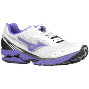 Mizuno Wave Rider 16 - Women's - White/Ultraviolet/Anthracite