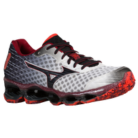 Mizuno Wave Prophecy 4 - Men's - Silver / Red