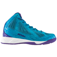 AND1 Xcelerate Mid - Men's -  Lance Stephenson - Light Blue / Purple