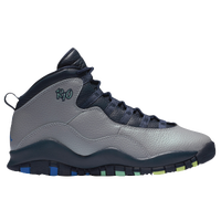 Jordan Retro 10 - Boys' Grade School - Grey / Navy