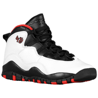 Jordan Retro 10 - Boys' Grade School - White / Black