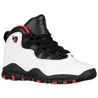 Jordan Retro 10 - Boys' Preschool - White / Black