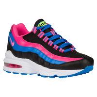 Nike Air Max 95 LE - Girls' Grade School - Black / Pink