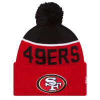 New Era NFL Sideline Sport Knit - Men's - San Francisco 49ers - Red / Black