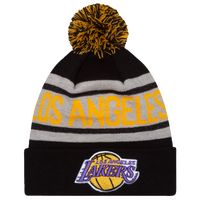 New Era NBA Biggest Fan Delux Knit - Men's - Los Angeles Lakers - Black / White