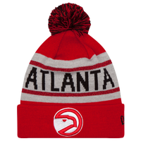 New Era NBA Biggest Fan Delux Knit - Men's - Atlanta Hawks - Red / White
