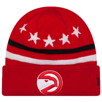 New Era NBA Five Star Knit - Men's - Atlanta Hawks - Red / White
