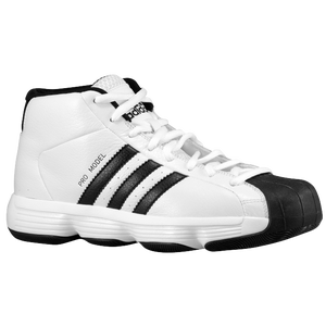 adidas Pro Model - Boys' Grade School - White/Black