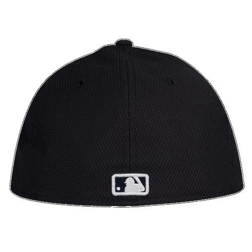 New Era MLB 59Fifty Diamond Era Low Profile Cap - Men's - Detroit Tigers - Black / White