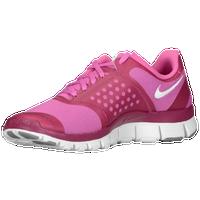 Nike Free 5.0 V4 - Women\u0026#39;s - Pink / White
