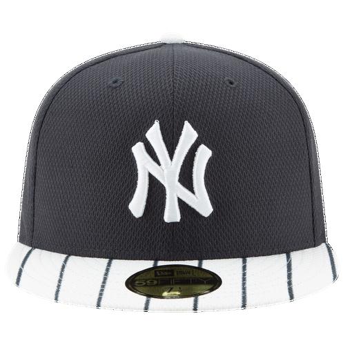 New Era MLB 59Fifty AC Diamond Era Cap - Men's - New York Yankees - Navy / White