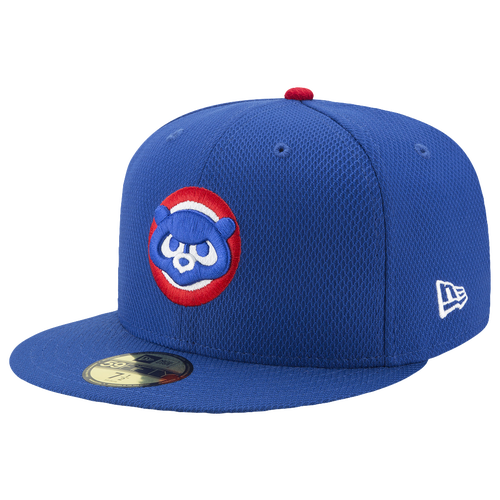 New Era MLB 59Fifty AC Diamond Era Cap - Men's - Chicago Cubs - Blue / Red