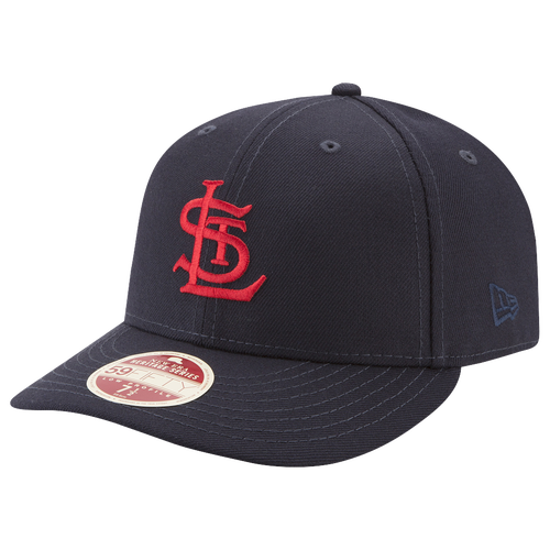 New Era MLB Vintage Fitted Cap - Men's - St. Louis Cardinals - Navy / Red
