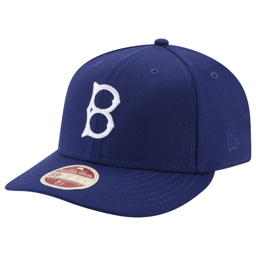 New Era MLB Vintage Fitted Cap - Men's - Los Angeles Dodgers - Blue / White