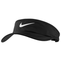 Nike Featherlight Visor - Boys' Grade School - Black / White