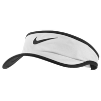 Nike Featherlight Visor - Boys' Grade School - White / Black